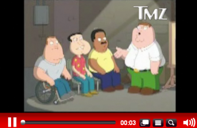 Christian Bale Goes Crazy on Peter Griffin
