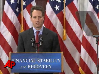 "Traders Weren't Impressed With Geithner's ""Plan"" (Click Image for Video)"